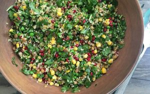 Green Bulgur Salad