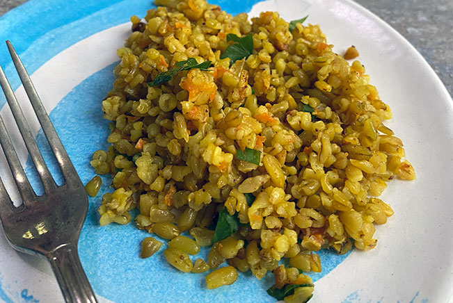carrot-onion-freekeh