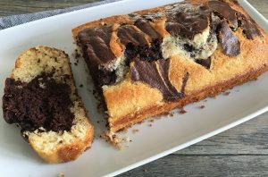 Classic 1-2-3-4 Marble Cake